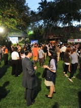 14. Party at Swan Packard garden