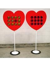 #311 Balloon Dart Heart