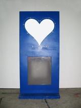 #631 Iron Alarm Heart 1